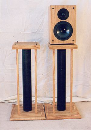 speaker stands speaker stands pinterest enceinte pieds et meubles. Black Bedroom Furniture Sets. Home Design Ideas