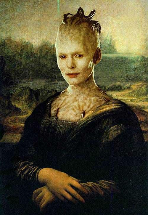 The Borg Queen (Mona Lisa)