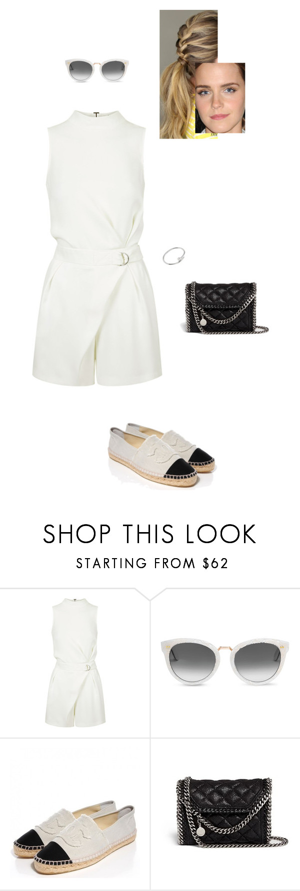 """""""Sem título #7502"""" by gracebeckett on Polyvore featuring moda, Topshop, TOMS, STELLA McCARTNEY e Narciso Rodriguez"""