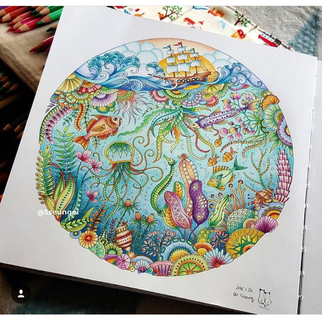 South korea coloring book - Ps Johanna Basfordcoloring Booksno 8south Koreajungleoceanprintsmandalas Books