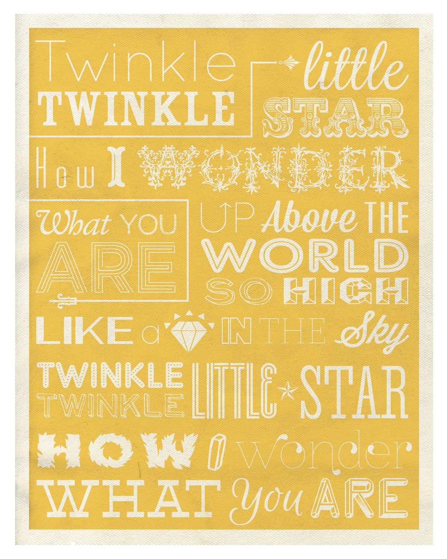 Nursery Rhyme Art | YELLOW OH YES! | Pinterest | Nursery, Babies and ...