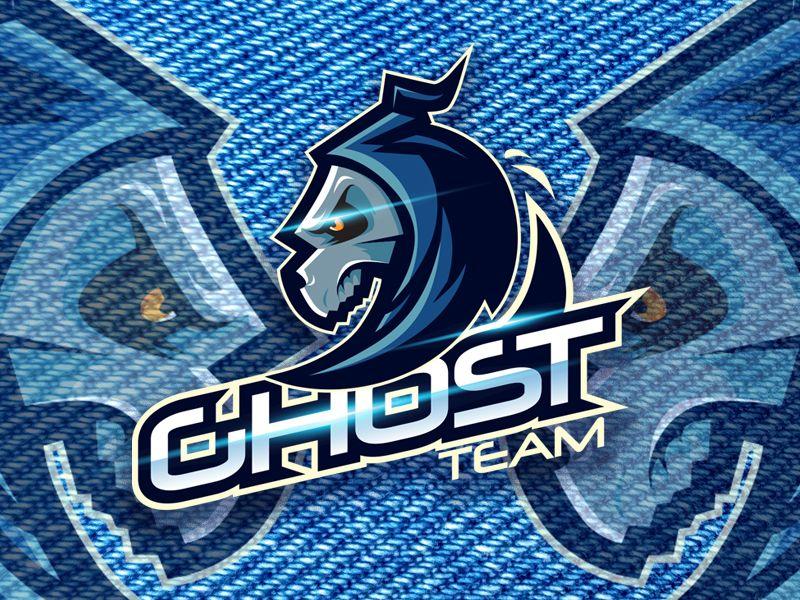 Ghost Team Ghost Logo Game Logo Design Sports Team Logos