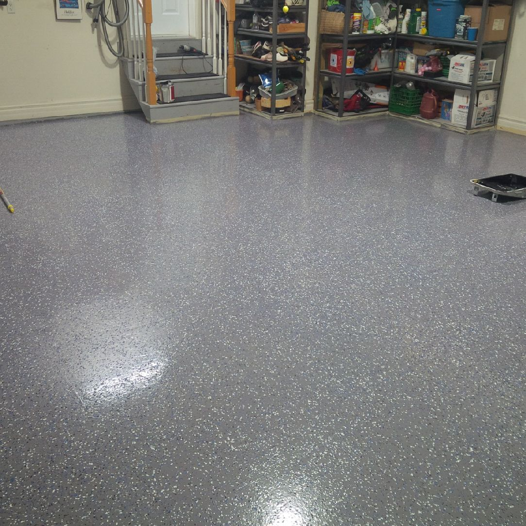 How To Epoxy Paint Any Floor Armor Garage Garage
