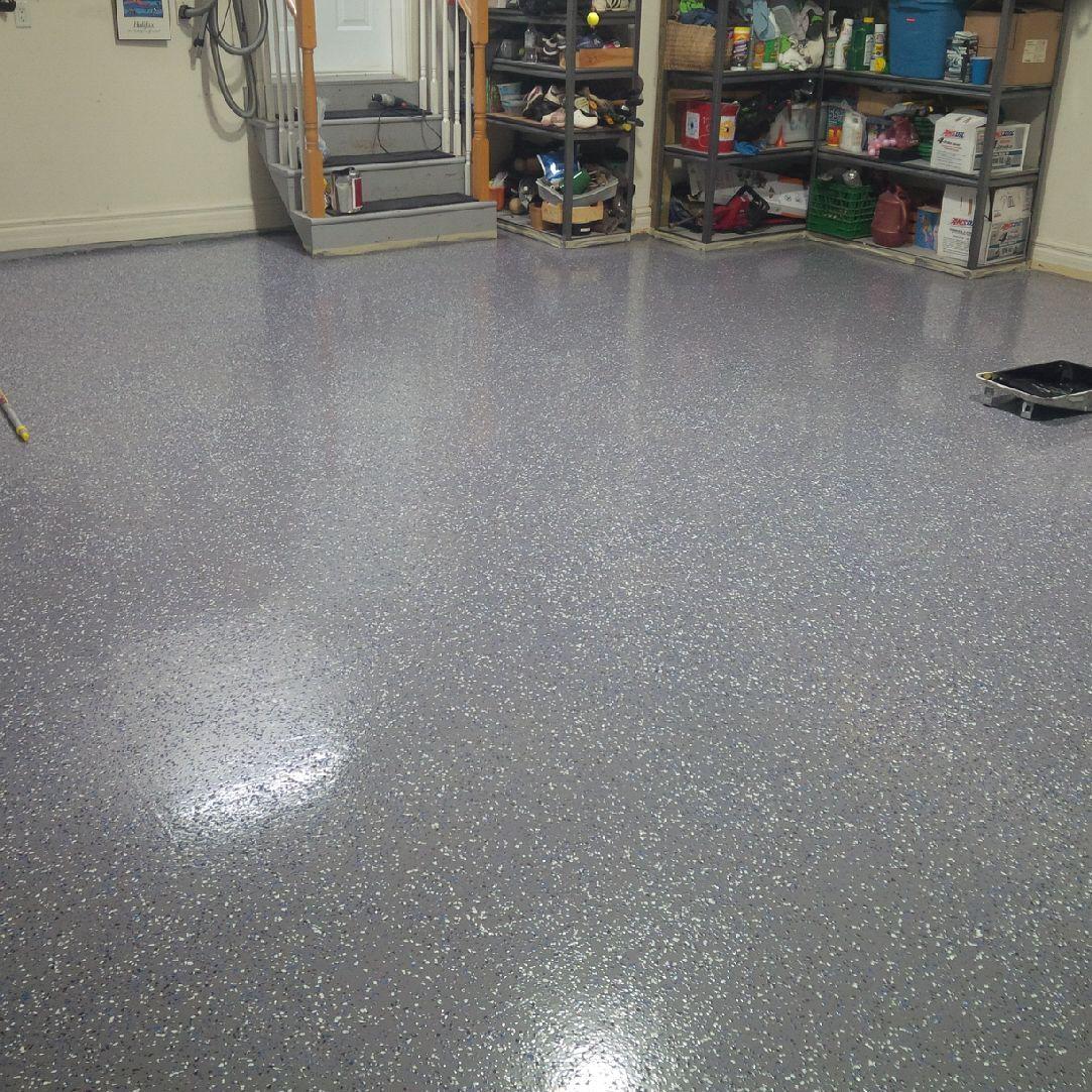 How To Epoxy Paint Any Floor Armor Garage Garage floor