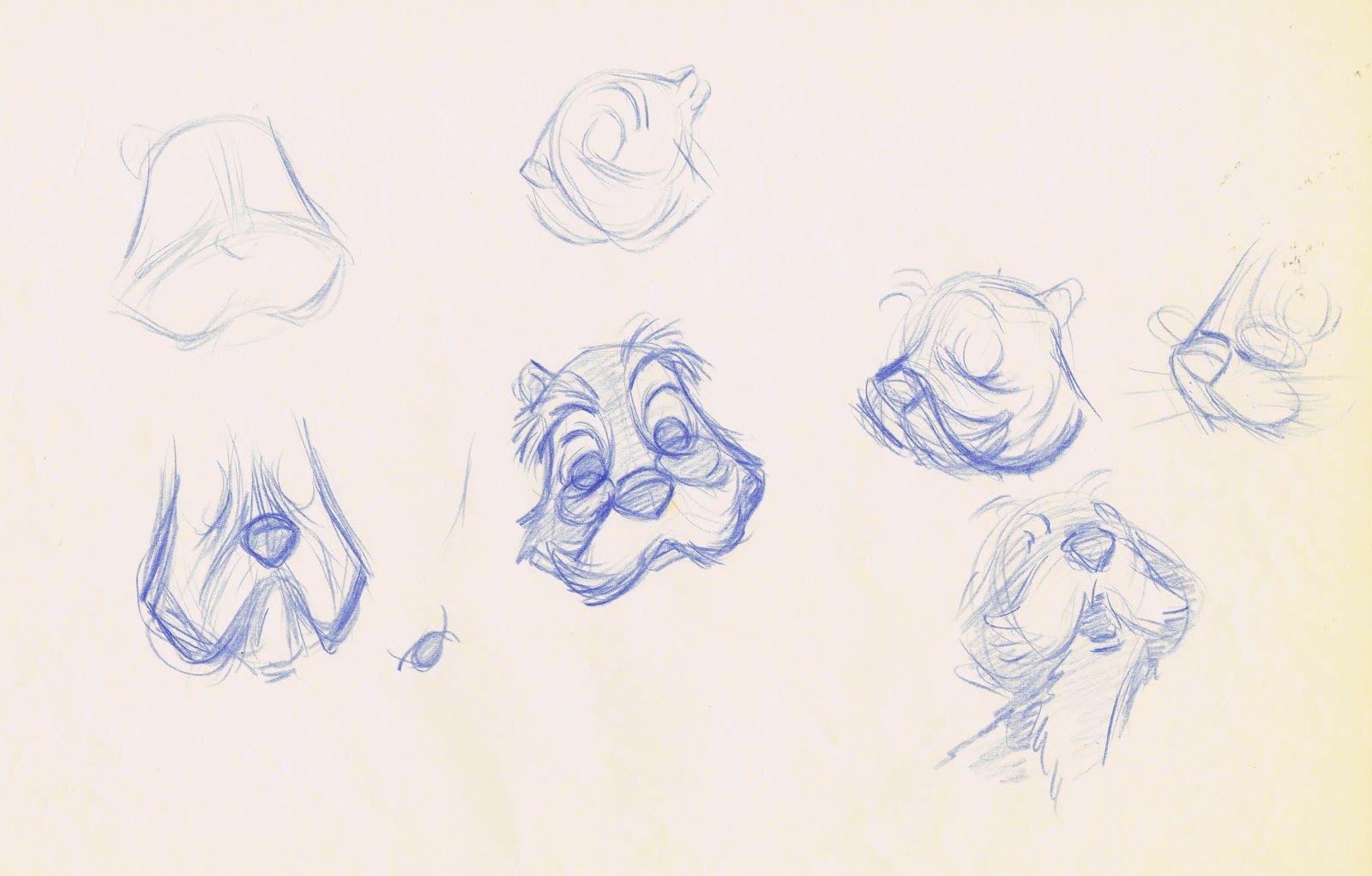 Merlin-squirrel character design roughs from Disney's Sword in the Stone, by Frank Thomas (via Andreas Deja, http://andreasdeja.blogspot.com/2013/01)/s1600/LSB+2.jpeg
