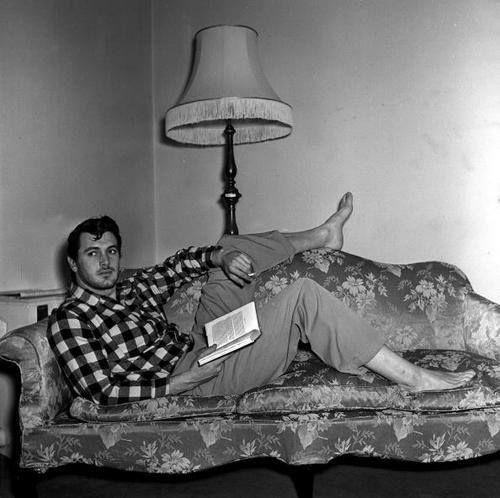 Rock Hudson, 1952.  Retro Ruminations, on Facebook