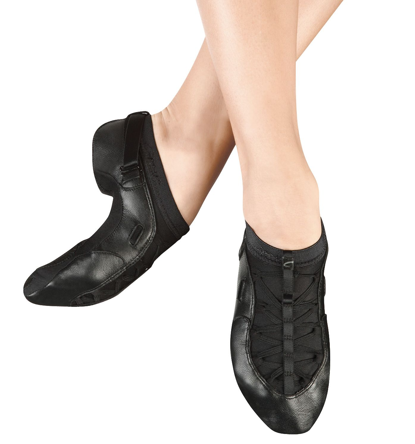 Adult slip on jazz boot