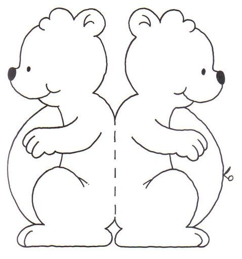 TEDDY BEAR PRINTABLE COLORING PATTERN   COLORING PAGES   Pinterest ...