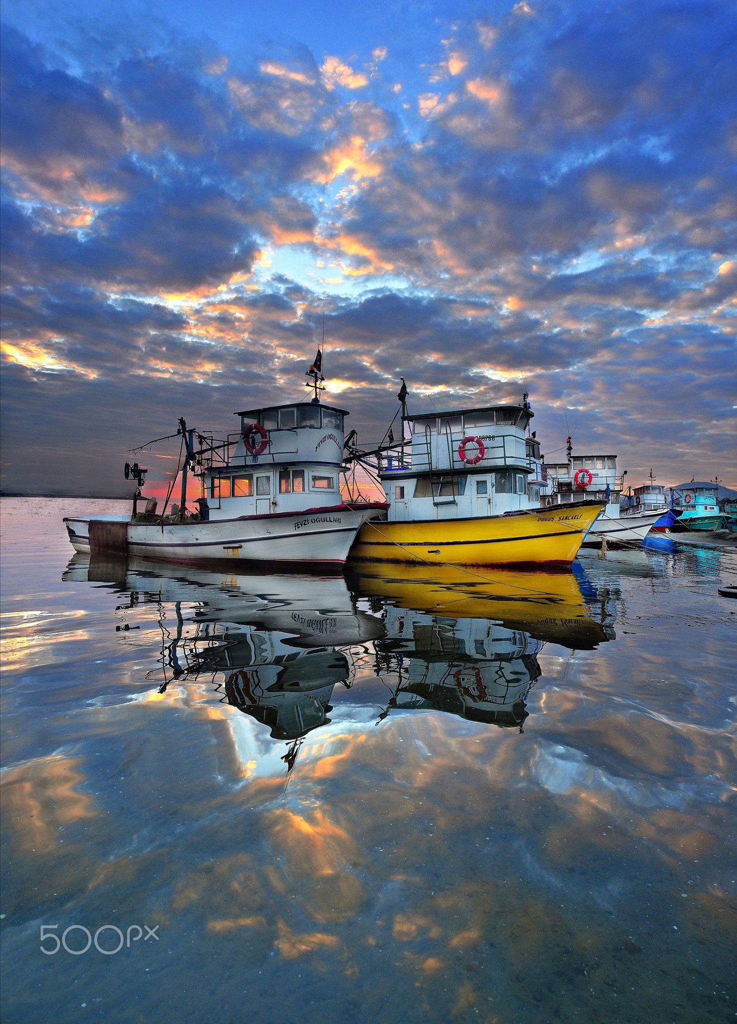 Boats by Mahmut Simsek