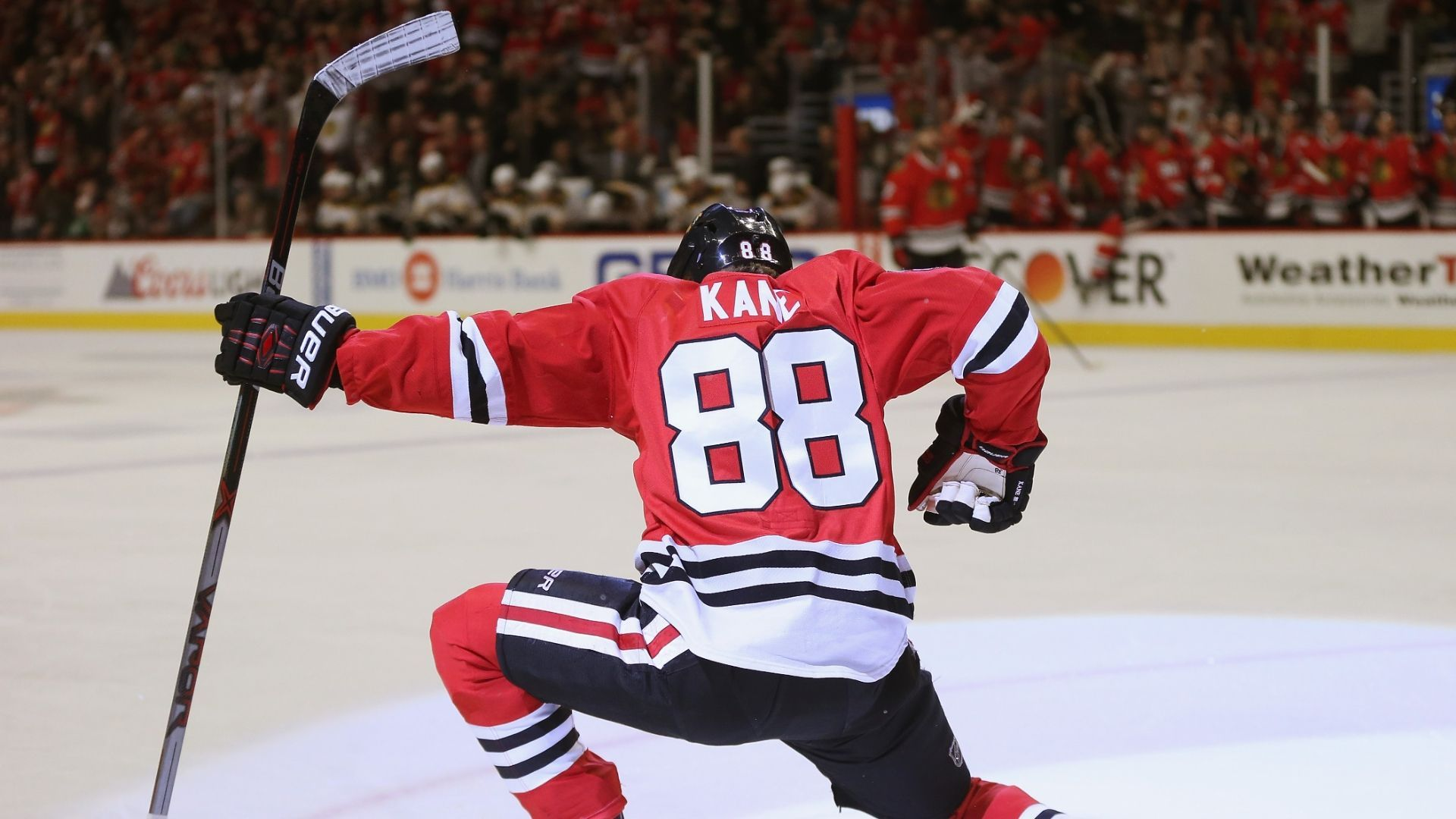Chicago Blackhawks Patrick Kane Hits Century Mark For Second Time Chicago Blackhawks Chicago Sports Teams Blackhawks