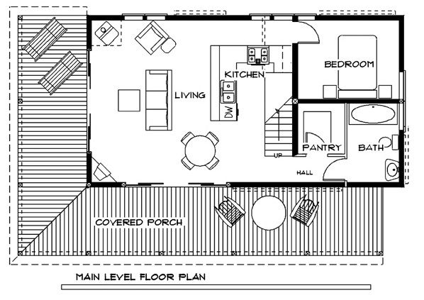 Cabin And House Plans By David Wright House Plans Tiny House Plans Little House Plans