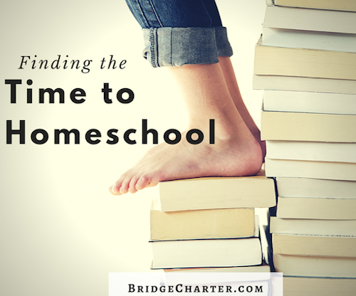 Finding the Time to Homeschool We can't do it all, so how do we find the time to homeschool?