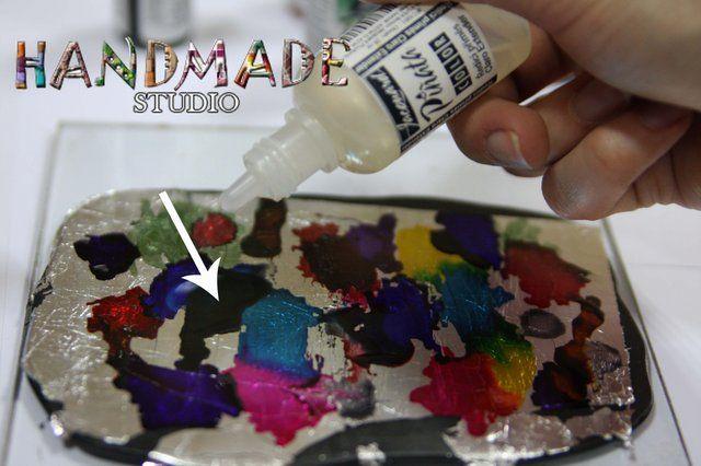 master class de cerneală și polimer argilă