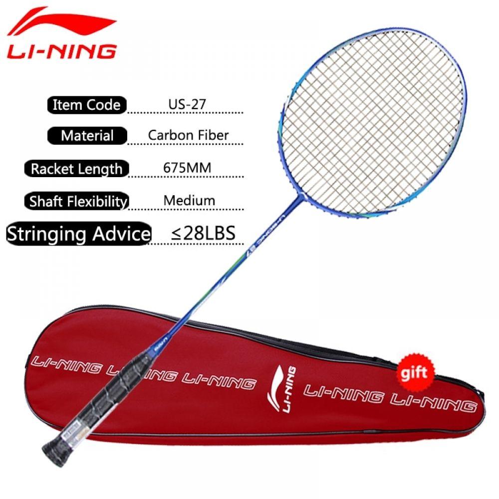 Li Ning U Sonic 27 Badminton Rackets Single Rackets Carbon Fiber Professional Lining Rackets Aypm224 Eamj17 Sports In 2020 Badminton Racket Badminton Carbon Fiber