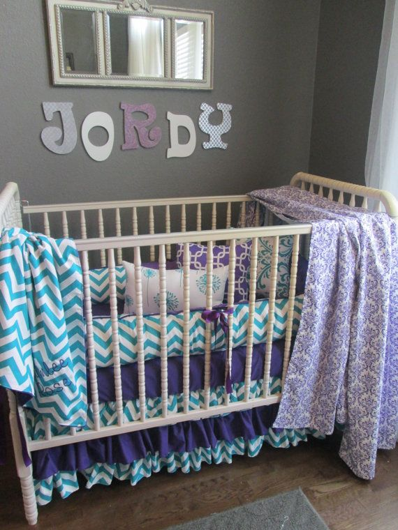 Brimlee Candy Purple and True Turquoise Custom Baby ...