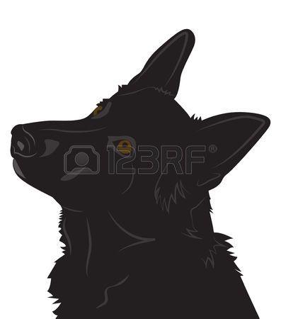 33+ German shepherd clipart silhouette information