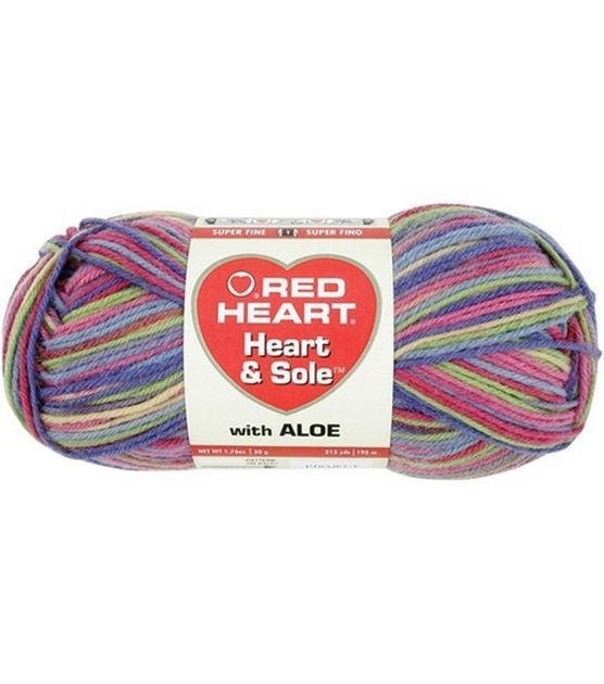 Red Heart Heart And Sole Yarn | favorite yarns | Pinterest
