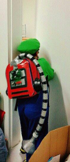Luigis Poltergust 5000 Replica Luigis Mansion Vacuum Poltergust