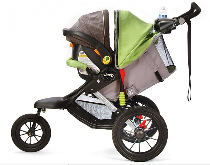 Jeep Strollers With Car Seat Car Seat Easily Attaches Compatible