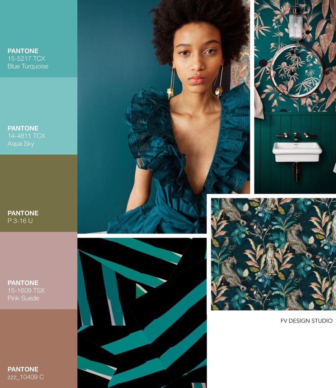 FV DESIGN STUDIO on Instagram: Trend x Color l TEAL TALES