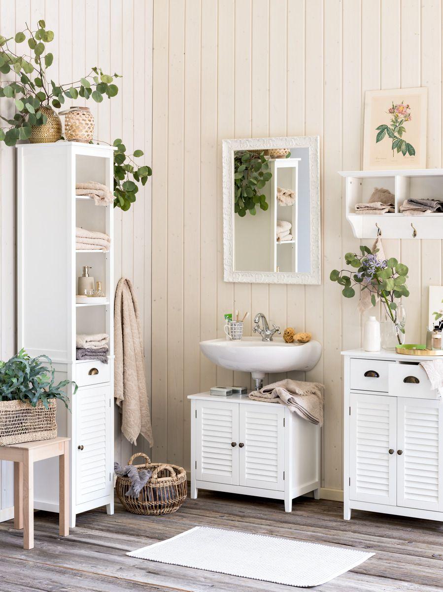 Micasa Badezimmer Mit Hochschrank Lavaboy Beistellmobel Aus Dem Programm Diez Schoner Wohnen Badezimmer Badezimmer Hochschrank