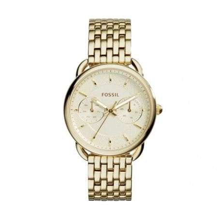 Fossil Armbanduhr – Tailor Watch Gold – in gold – Armbanduhr für Damen