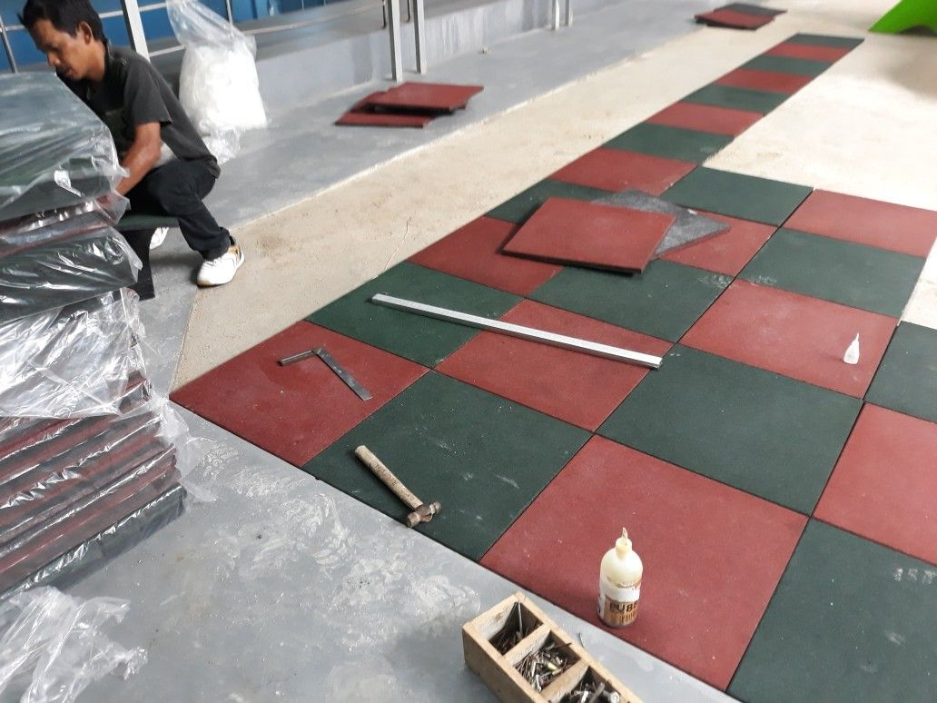 Pin oleh sjm carpet and interior di RUBBER FLOORING JAKARTA