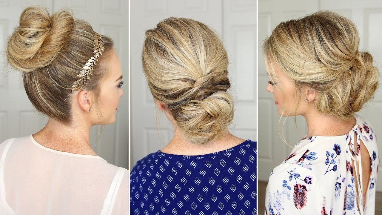 3 stunning updos that you can do on yourself! | hair