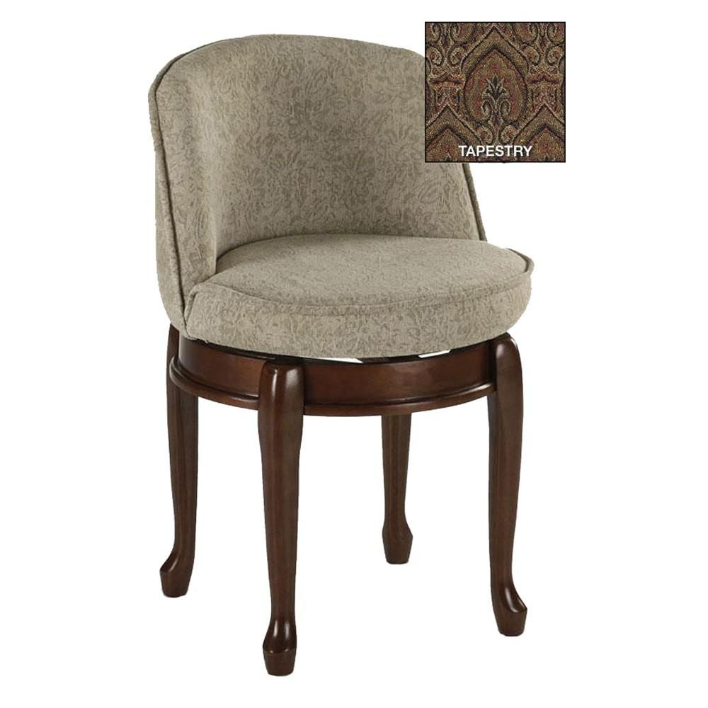 Home Decorators Collection Delmar Tapestry High Back Swivel