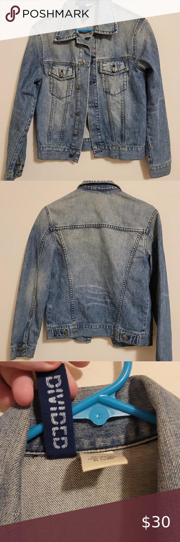 Oversized Denim Jacket Slightly Cropped Divided Jackets Coats Jean Jackets Oversized Denim Jacket Denim Jacket Jackets [ 1740 x 580 Pixel ]