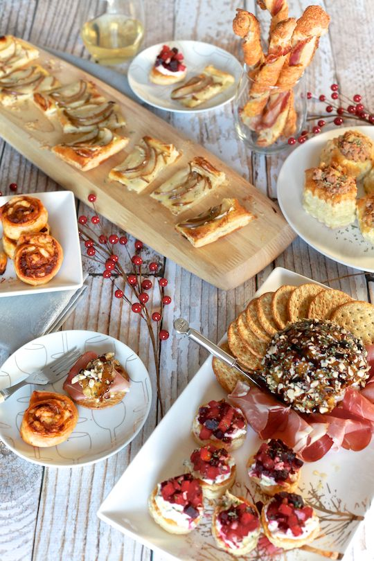 6 Easy New Year S Eve Appetizers Recipe Appetizing Pinterest