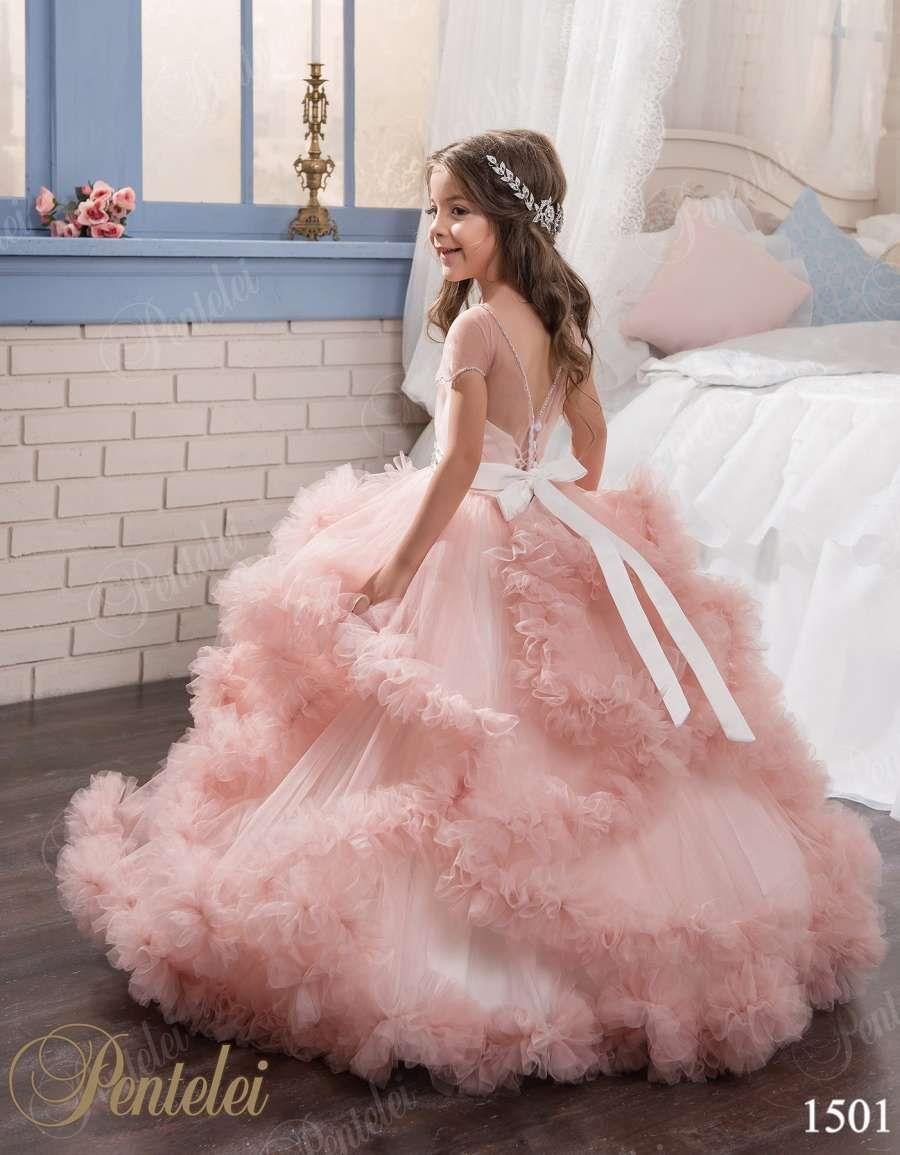 Original PENTELEI Girls dress - style1501 at: myweddingown.com ...