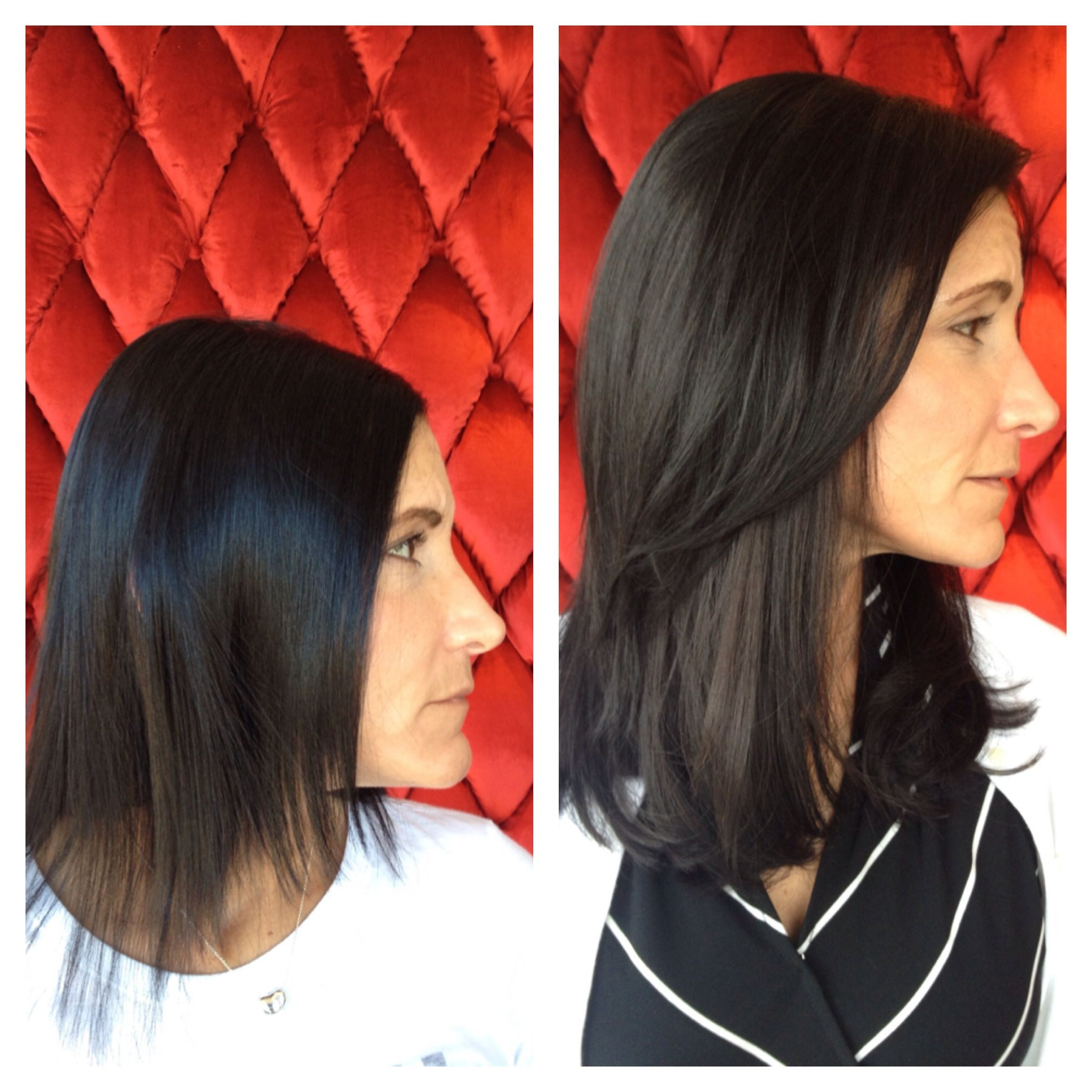 Before After Great Lengths Extensions Bryans Work Pinterest