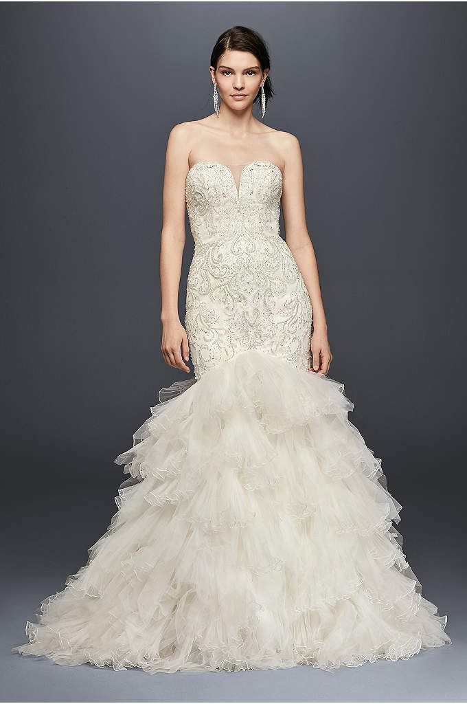 SWG760 at David's Bridal. Love the embellishing!