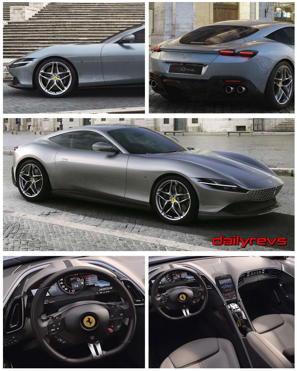 2020 Ferrari Roma Hd Pictures Videos Specs Informations In 2020 Ferrari Sports Cars Luxury Super Cars