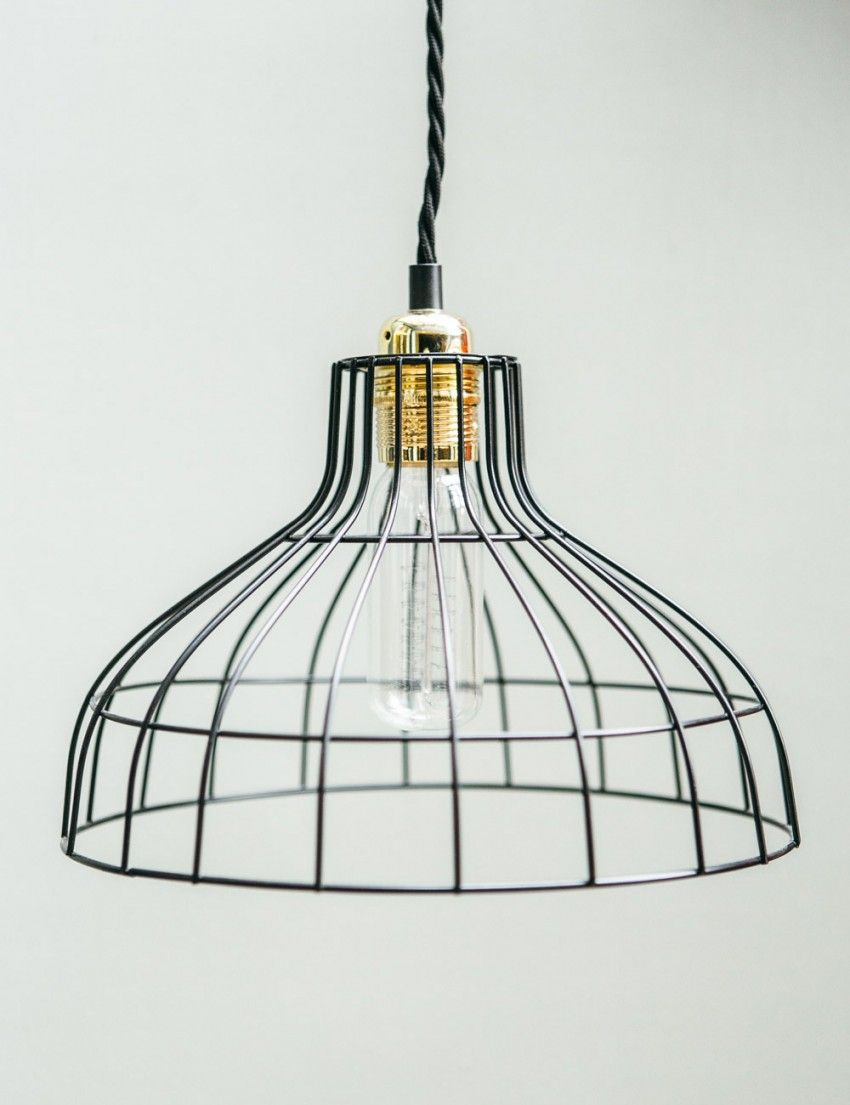 Parasol Wire Lamp Shade | Lamp shades | Pinterest | Lamp shades ...