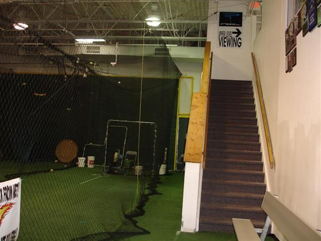 Indoor Baseball And Softball Batting Cages