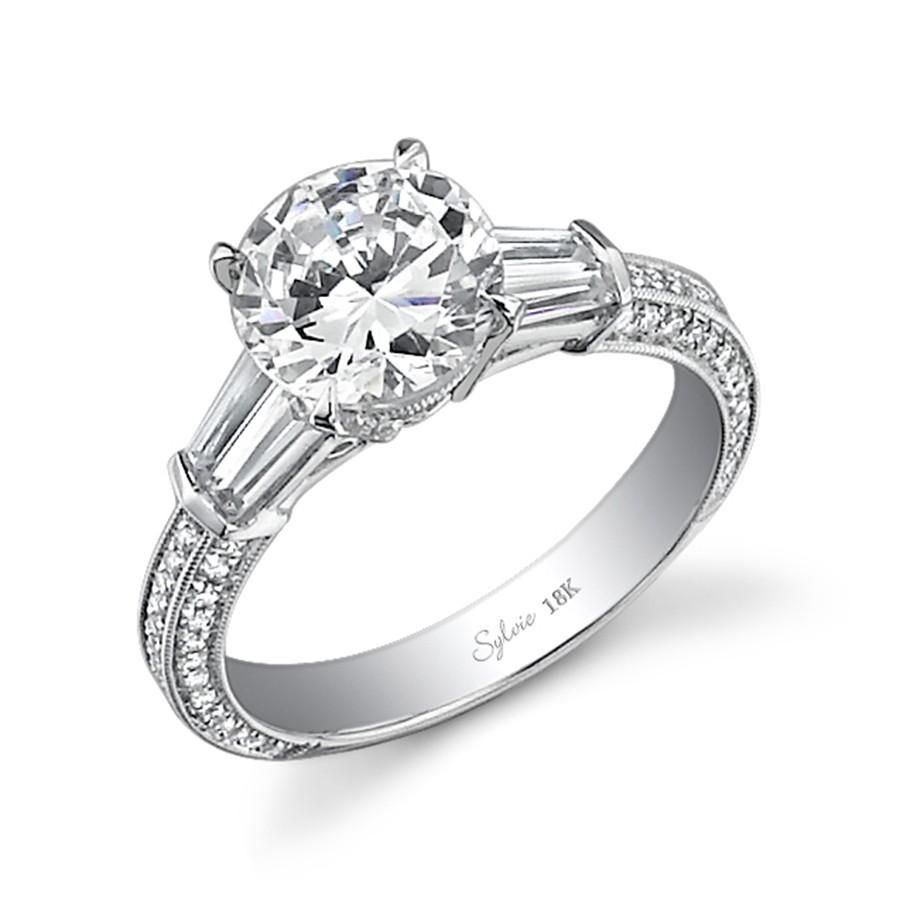 Beautiful  Classic Tiffany Engagement Rings