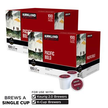 "Gone are the days of fumbling through the kitchen, half-awake, to make a pot of coffee. Keurig's K-Cups have revolutionized and simplified home brewing. Stock up on these pods of high-quality, arabica coffee beans. They require only the touch of a ""start"" button."