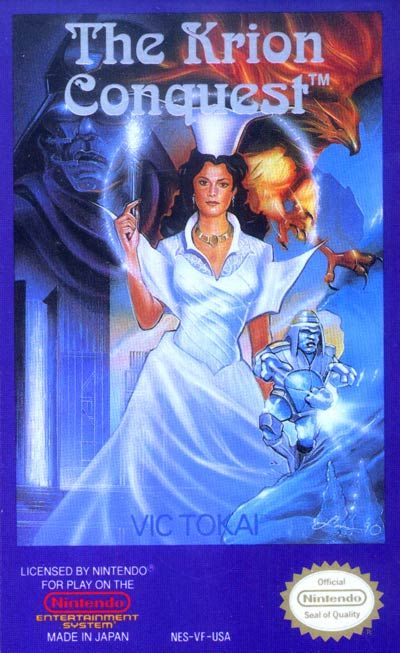 The Krion Conquest for the NES (a blatant rip-off of Mega Man...but that's okay 'coz Mega Man's awesome.)