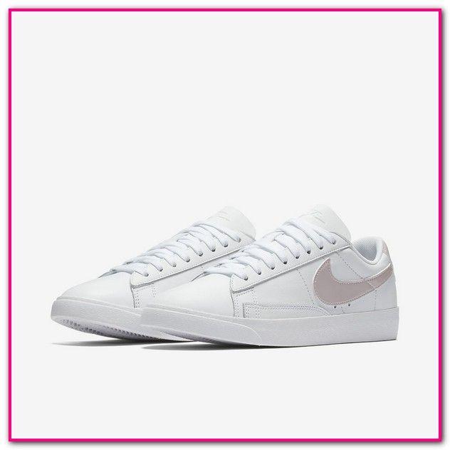 Nike Blazer Low Damen Sneaker Weiße Rose-Nike Blazer Low Sneaker ...