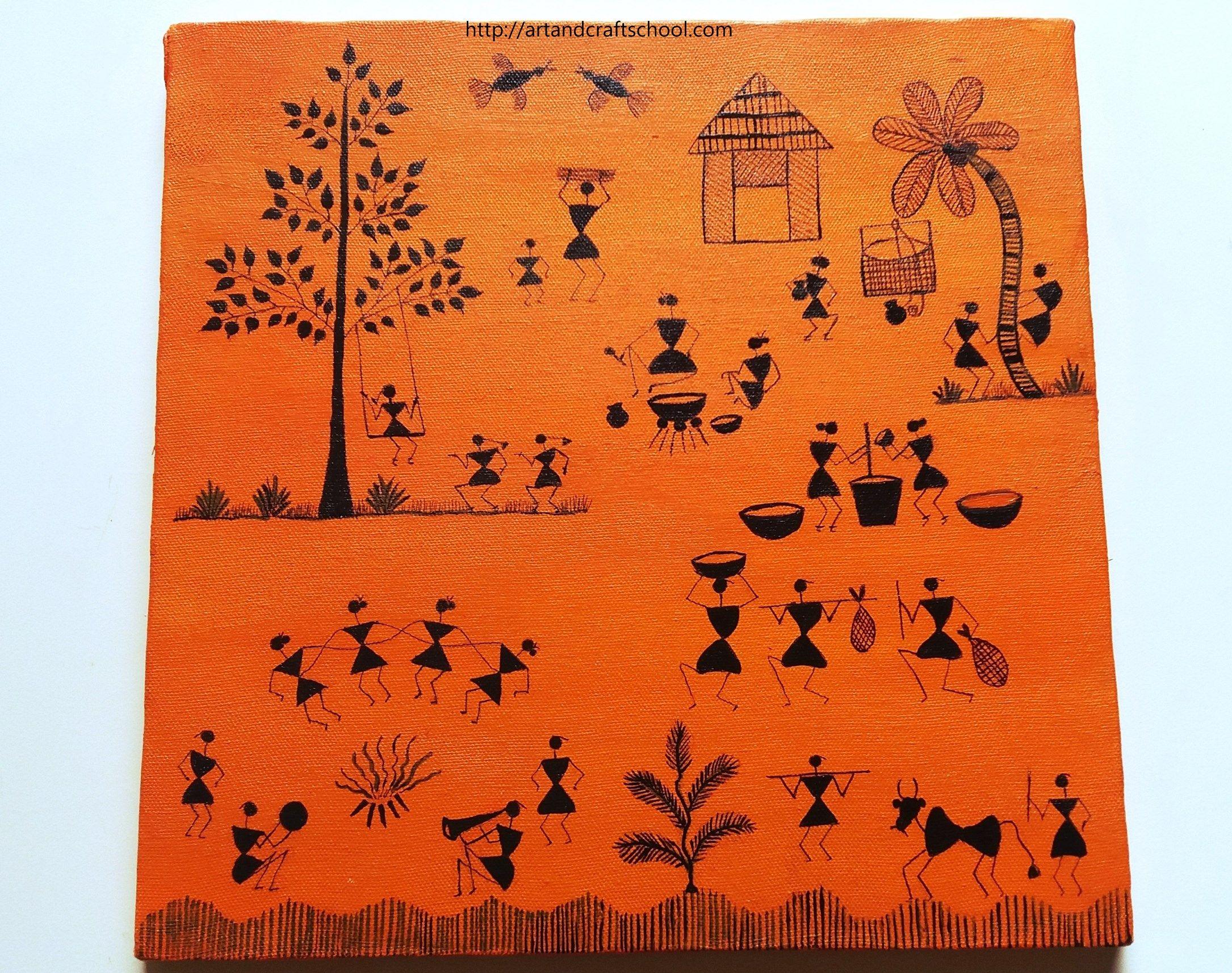 #Warli #painting #designs   Warli Painting & Murals ...