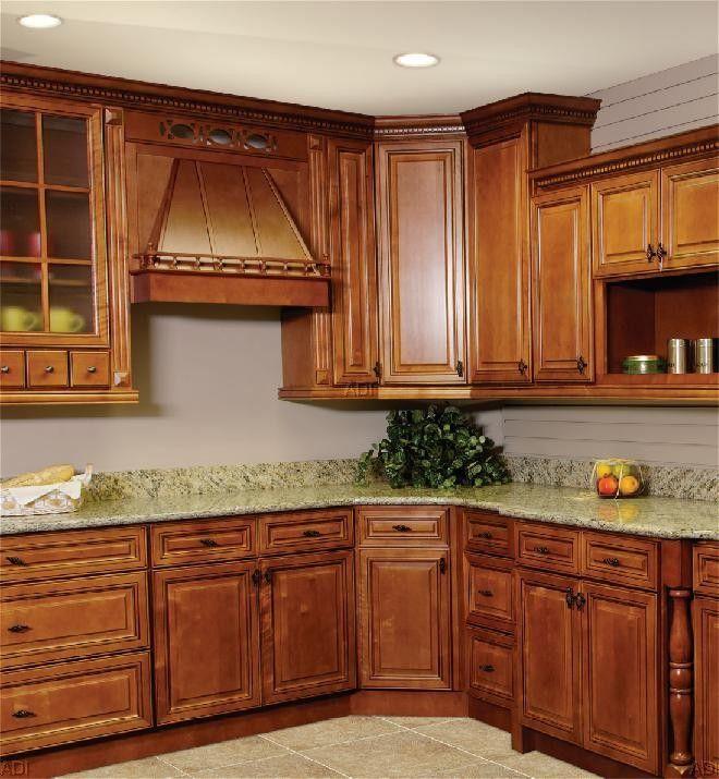 Kitchen Cabinet Lines: An Impresssive SPICE CHERRY