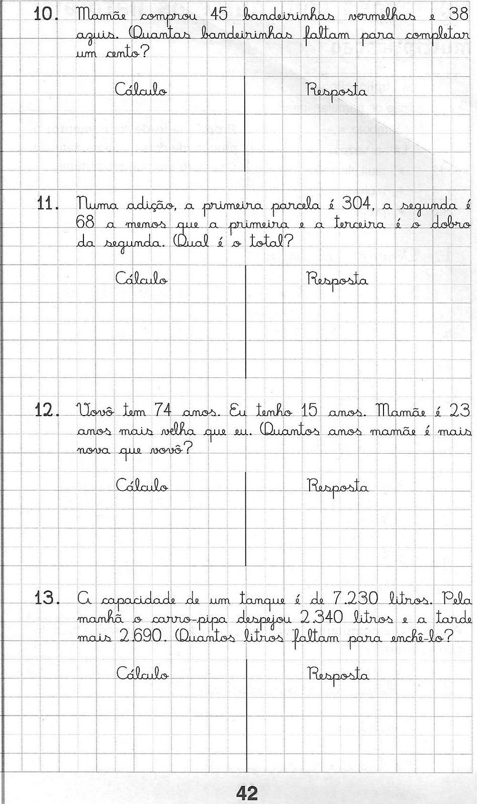 Kit 03 Cadernos De Atividades Matematica Para Alfabetizacao