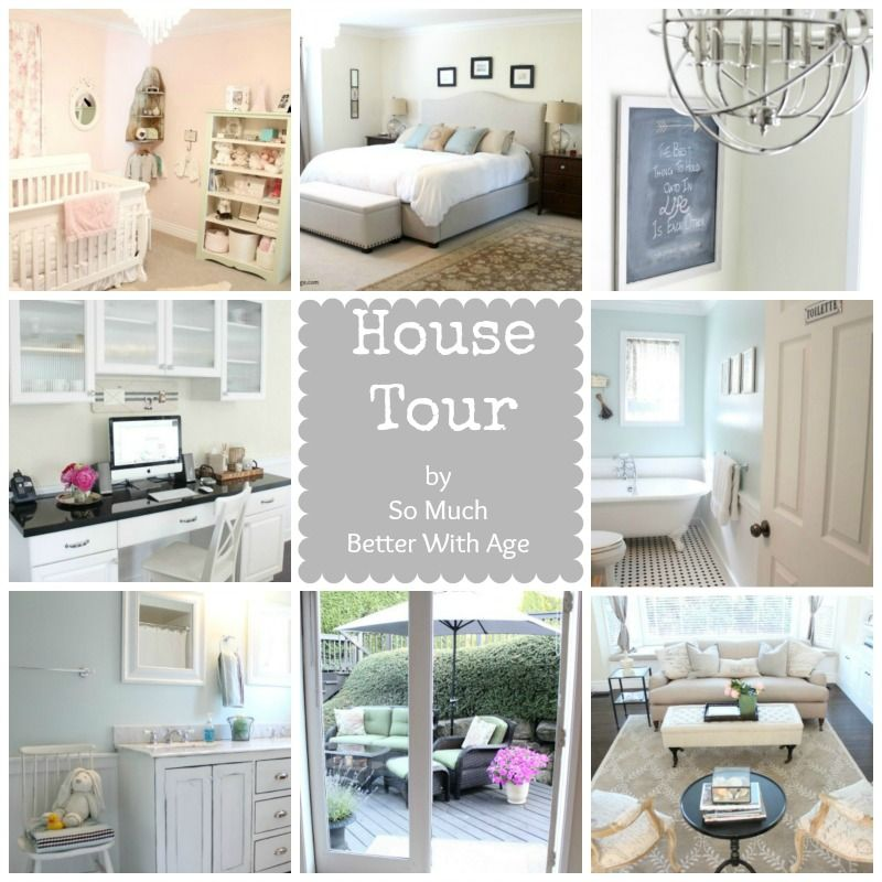 House Tour ~ Summer Showcase of Homes - Better With Age www.somuchbetterw...
