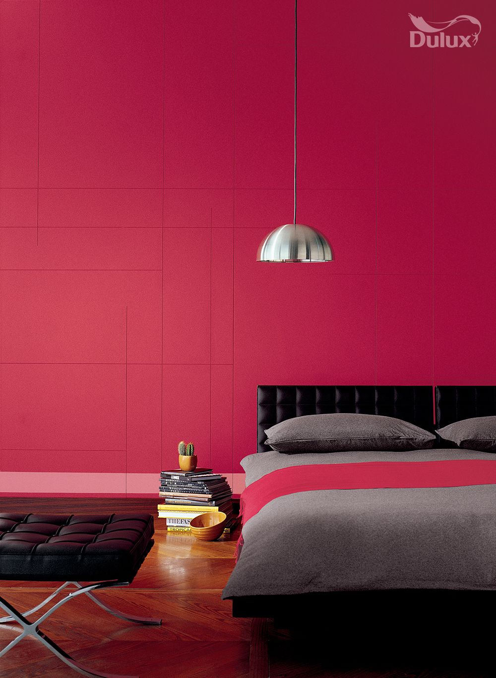 We've turned the colour of extremes into a dynamic and vibrant roomset with  Moroccan
