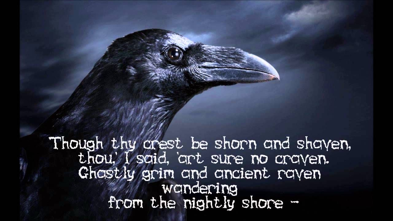 Sir Christopher Lee Read Poe S The Raven Thi I Super Cool And A Worthy Competitor To Basil Rathbone Recitation Of Poem But Edgar Allan Context