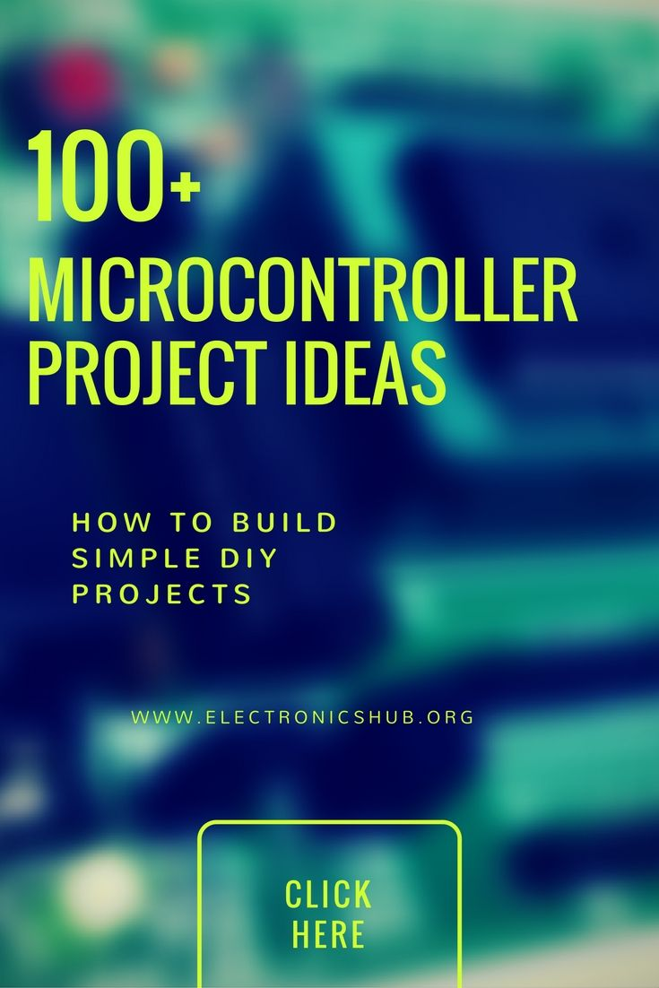 100 Microcontroller Based Mini Projects Ideas For Engineering Students Electronics Mini Projects Microcontrollers Pic Microcontroller