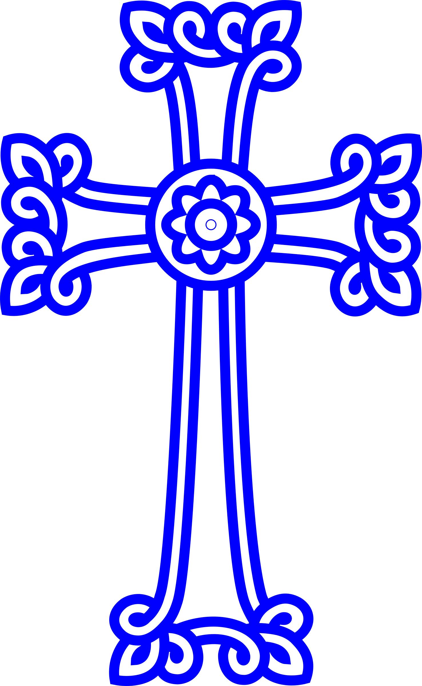 Clipart - Armenian Cross | the cross in art and love- 1 ...