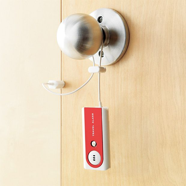 Motion Sensitive Portable Travel Alarm
